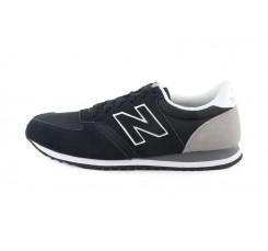 Deportiva ante negro con N negra New Balance U420