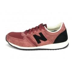 Deportiva ante rosa lavado con N negra U420CK New Balance