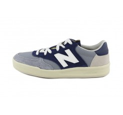 Zapatilla azul y gris con N blanca WRT300 New Balance