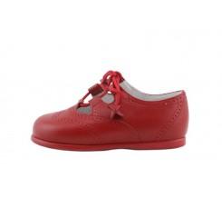 Zapato inglesito rojo Jeromín