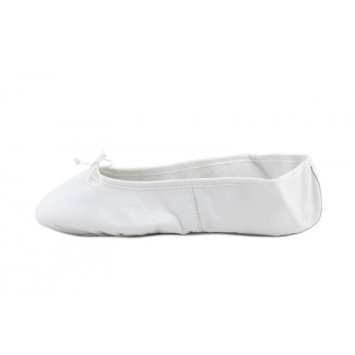 Zapatilla de ballet piel blanca Jeromin