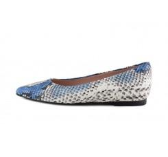 Bailarina serpiente azul jeans Joni