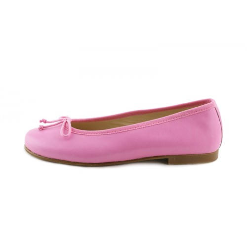 Bailarina piel rosa chicle cn lazo Jeromín