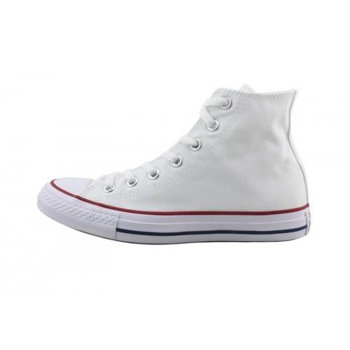 Bota de lona blanca Converse