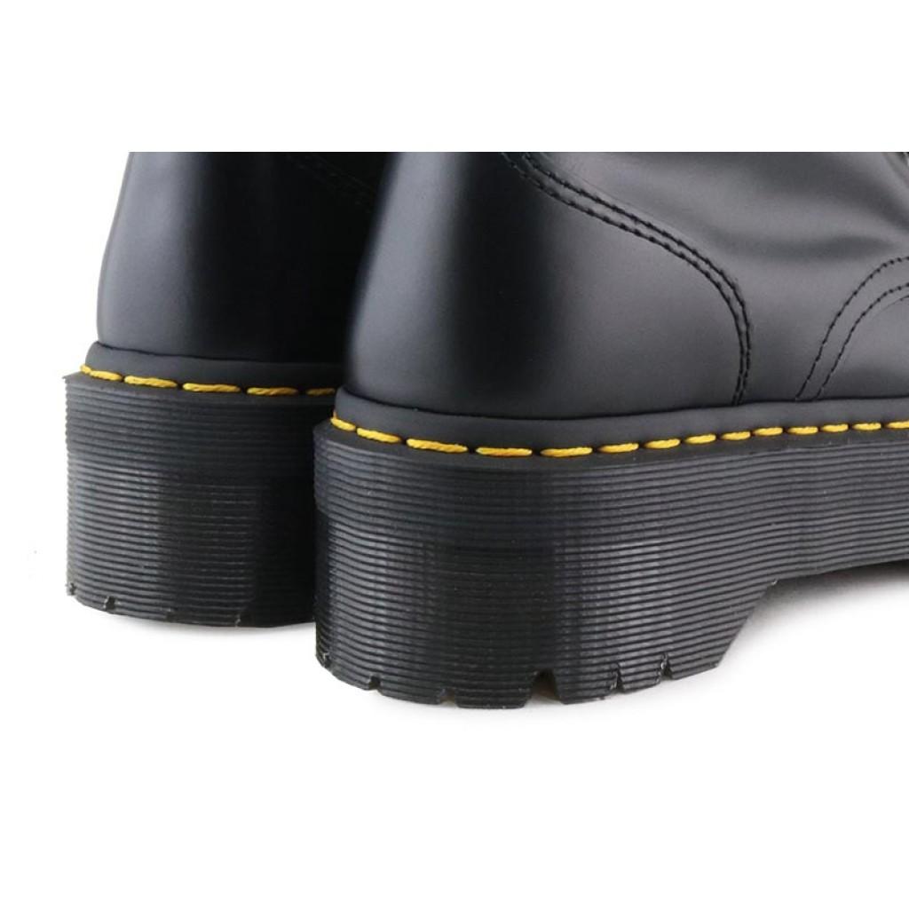 Bota negra con cordón y plataforma Dr.Martens