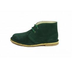 Bota pisa kk ante verde con cordón Jeromín