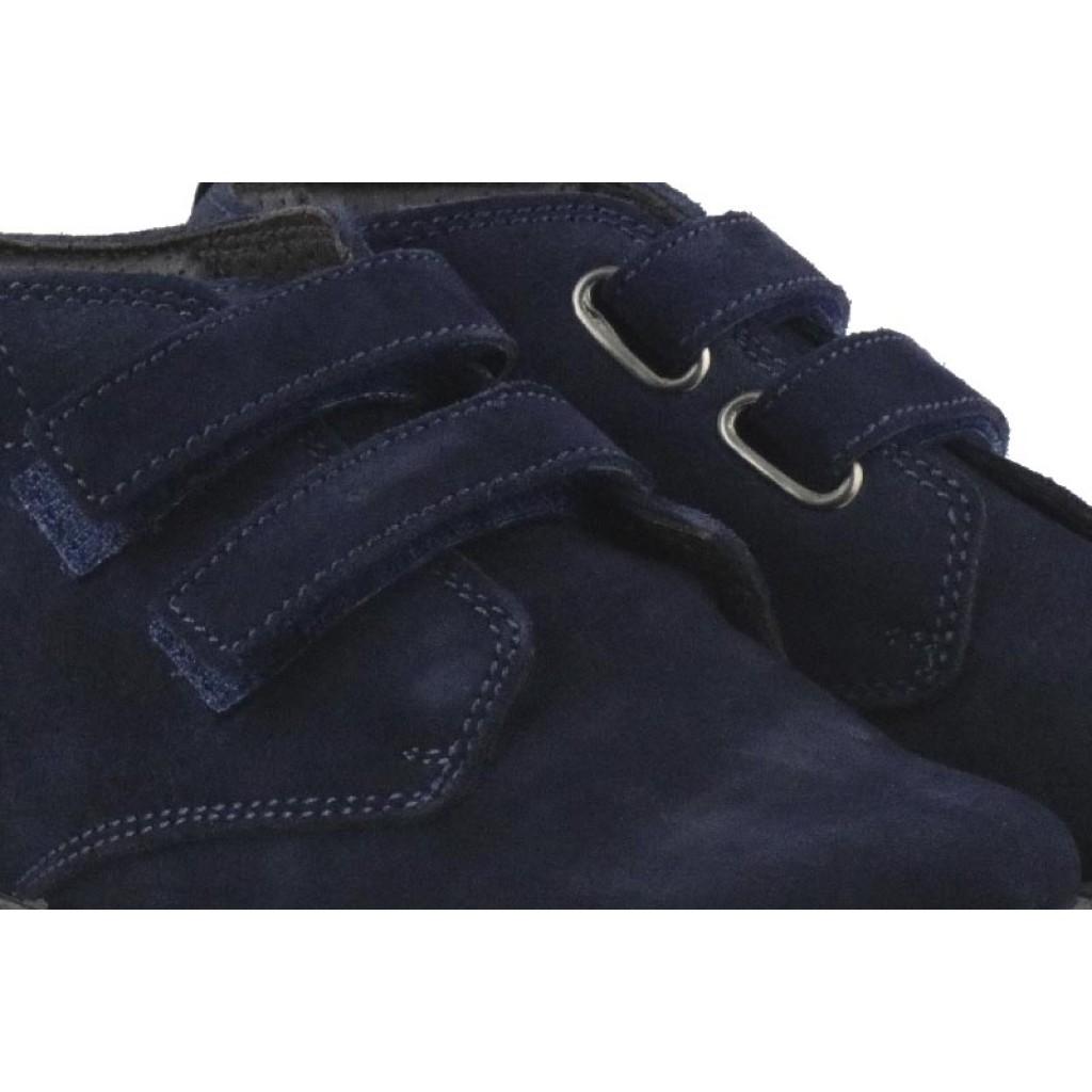 Bota ante azul con velcro VUL332 Thousand para Jeromín