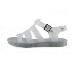 Sandalia romana blanca de goma Igor