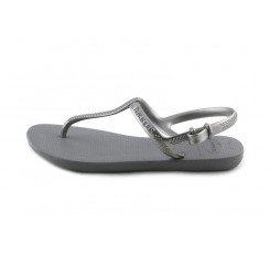 Sandalia gris con pulsera Havaiana