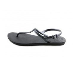 Sandalia dedo negra con pulsera Havaiana