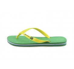 Chancla de dedo verde/amarilla Ipanema