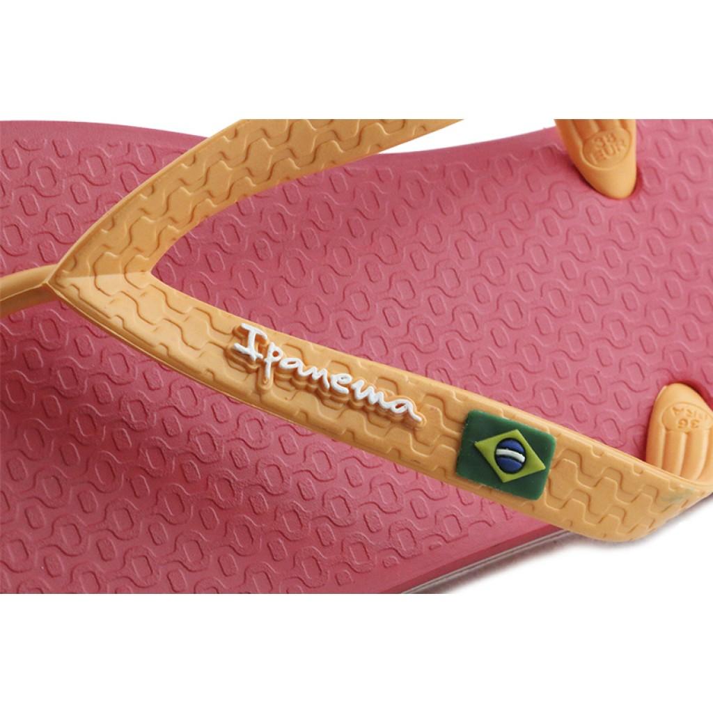 Chancla de dedo rosa/naranja Ipanema