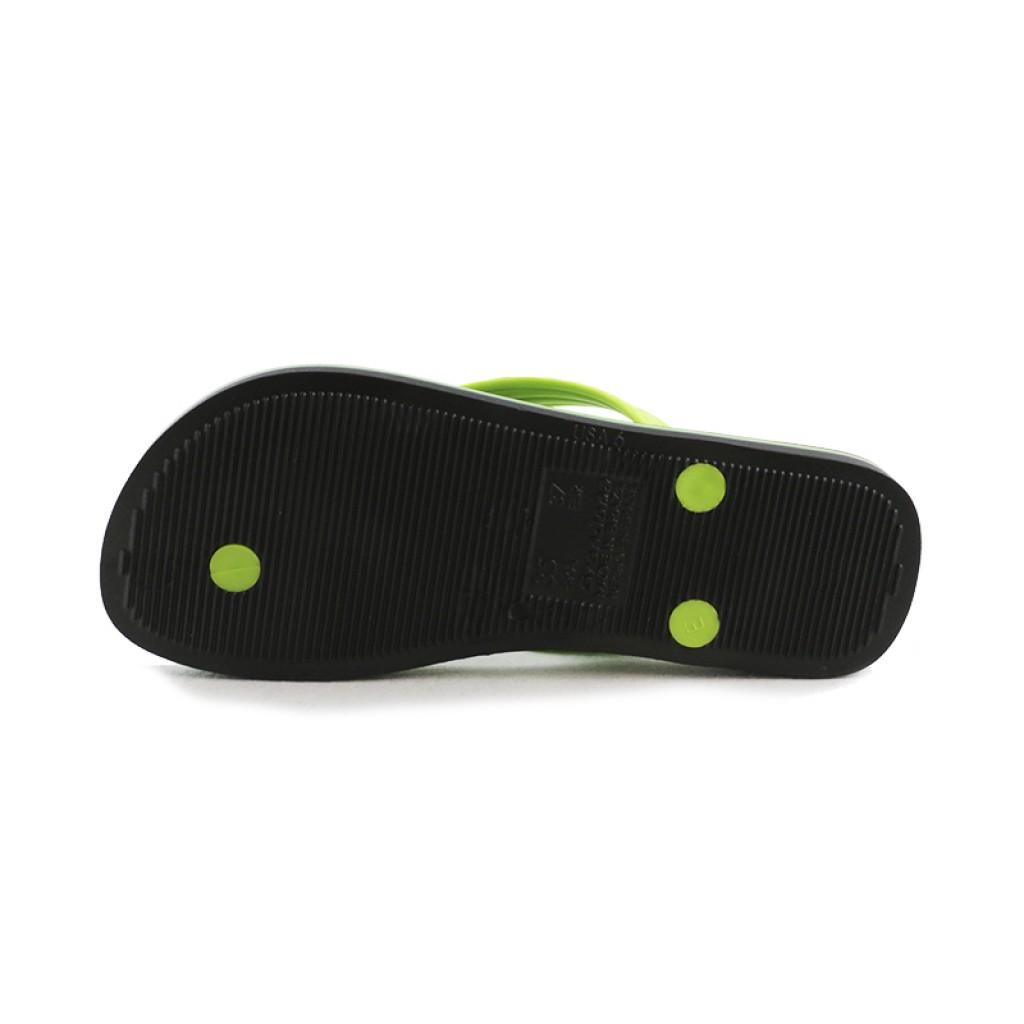 Chancla de dedo negro/verde Ipanema