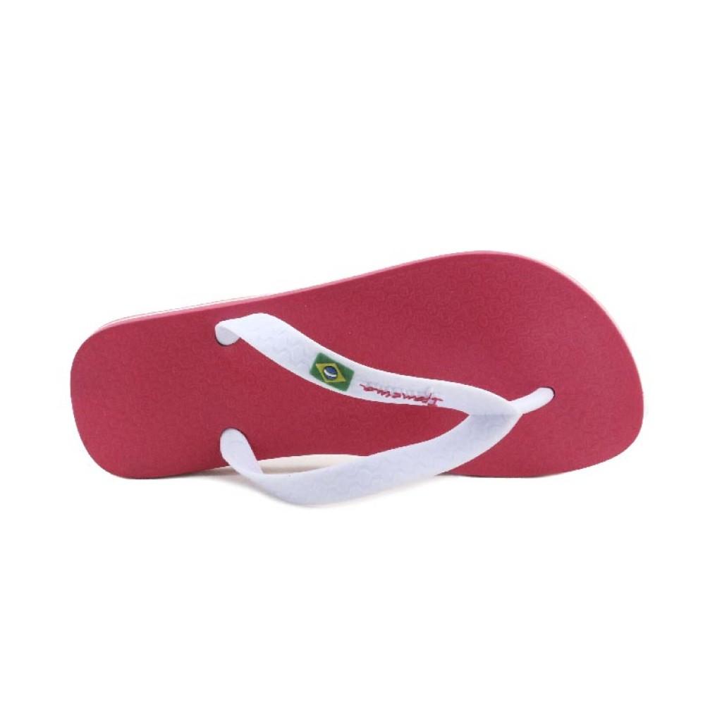 Chancla de dedo rosa/blanco Ipanema