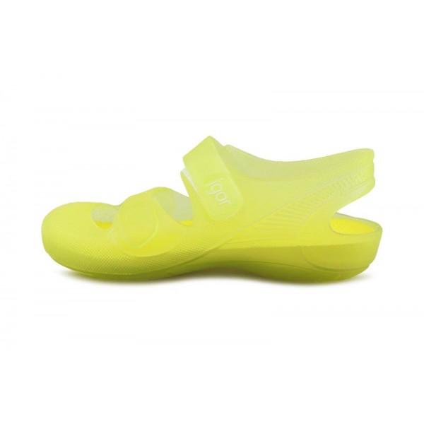 Cangrejera amarilla con velcro Igor