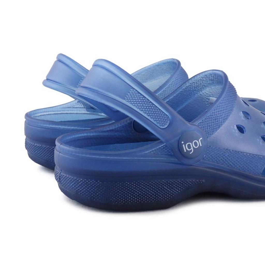 Zueco azul Igor