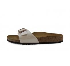 Sandalia piel beige Madrid Birkenstock