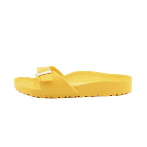 Sandalia amarilla tira ancha Birkenstock