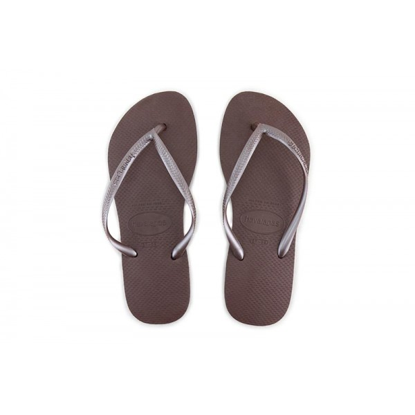 Chancla de dedo marrón Slim Havaiana