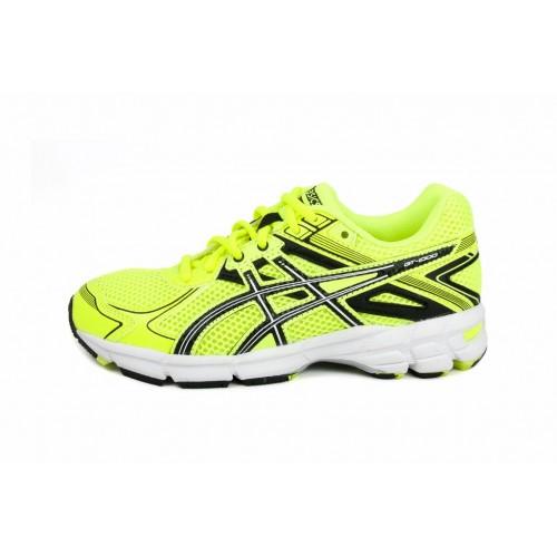 Deportiva running amarillo fluorescente con cordón GT1000 Asics