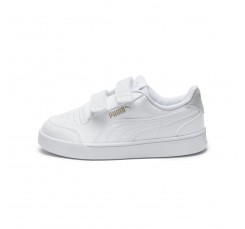 Zapatilla deportiva blanca con velcro Shufflev Puma