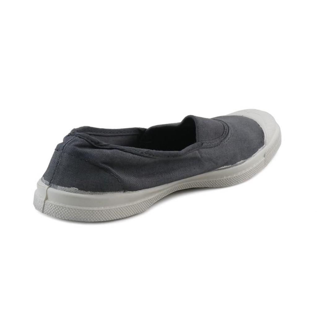 Lona gris medio elástico Bensimon