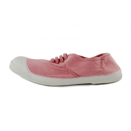 Lona rosa bailarina cordón Bensimon