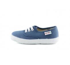 Lona azul jeans cordón Victoria