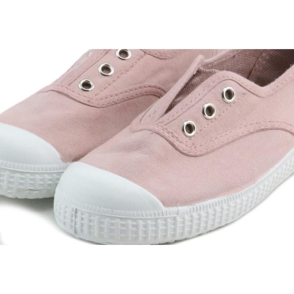 Lona rosa elásticos sin hilos La Cadena