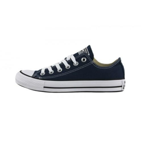 Zapatilla de lona azul con cordón Converse