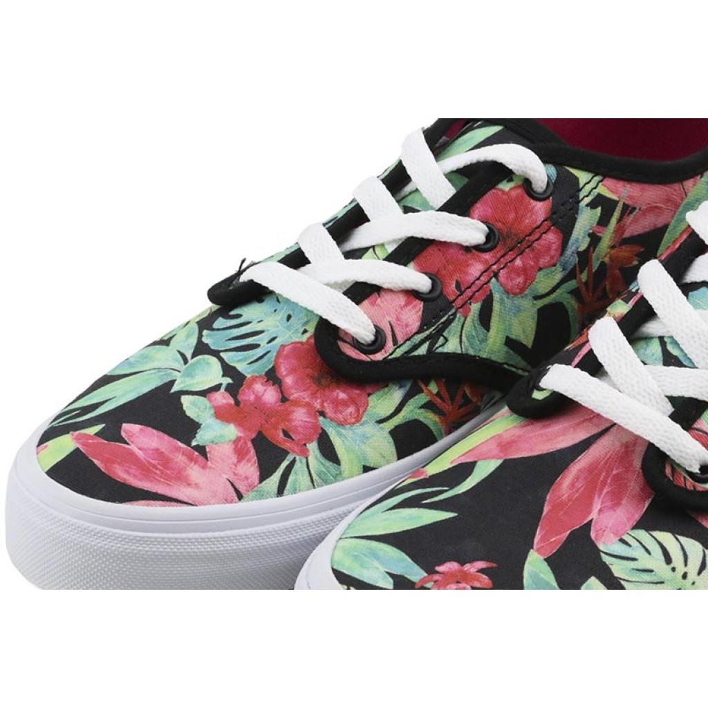 Zapatilla de lona tropical con cordón Vans