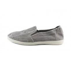 Lona kung fu gris claro lavado Natural World
