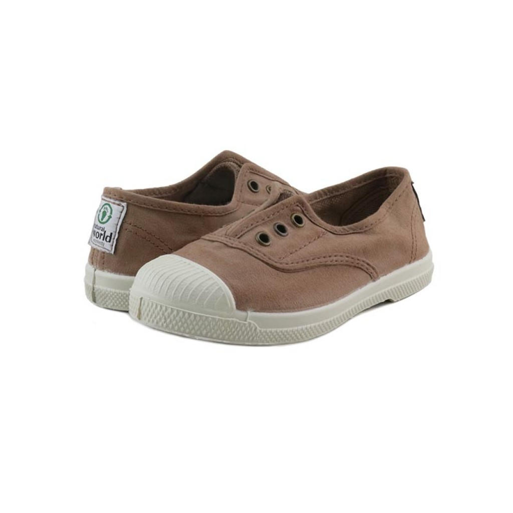 Lona beige crep elástico Natural World