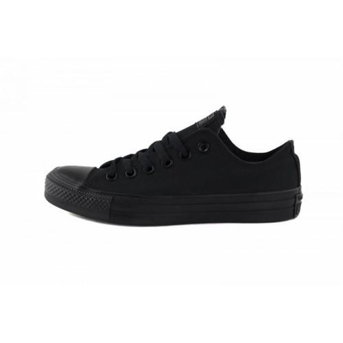 Zapatilla de lona total negra Converse