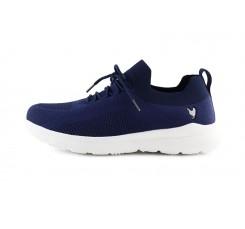 Zapatilla deportiva azul ultra ligera Marco Walk in Pitas