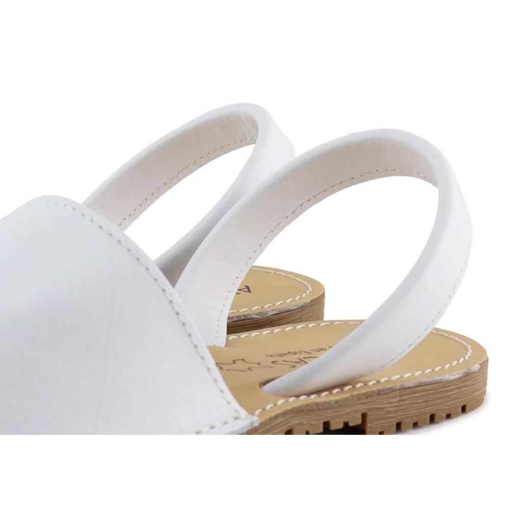 Menorquina clásica piel blanca Jeromin