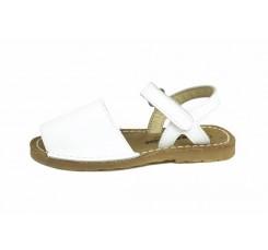 Menorquina blanca velcro Jeromín