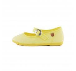 Merceditas lona amarilla La Cadena