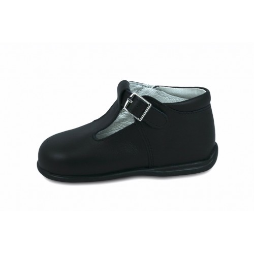 Sandalia bota azul Petit Shoes