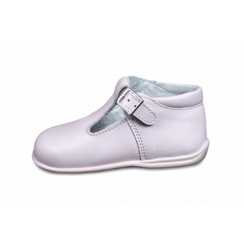 Sandalia bota rosa Petit Shoes