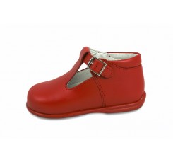 Sandalia bota roja Petit Shoes