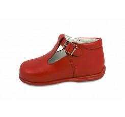 Sandalia bota roja Petit Shoes