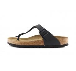 Sandalia de dedo negro Gizeh Birkenstock