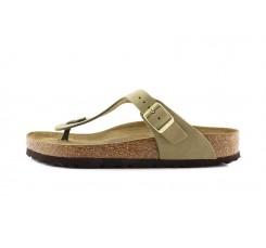 Sandalia de dedo kaki Gizeh Birkenstock