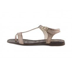 Sandalia piel serpiente chaira de dedo Balis Jeromin
