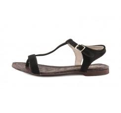 Sandalia ante negro de dedo Balis Jeromin