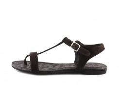 Sandalia ante marrón de dedo Balis Jeromin