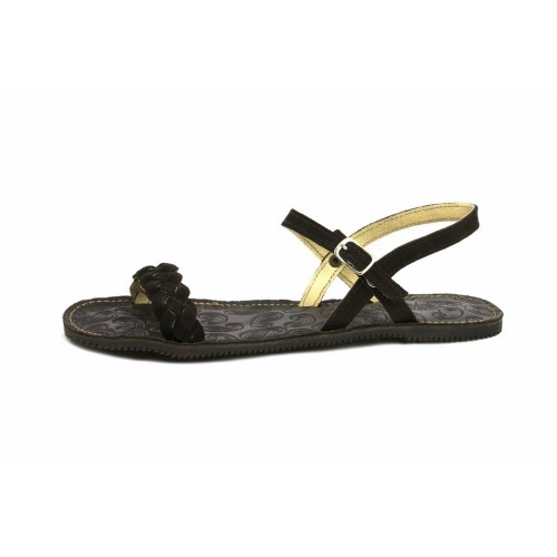 Sandalia ante marrón Jeromín