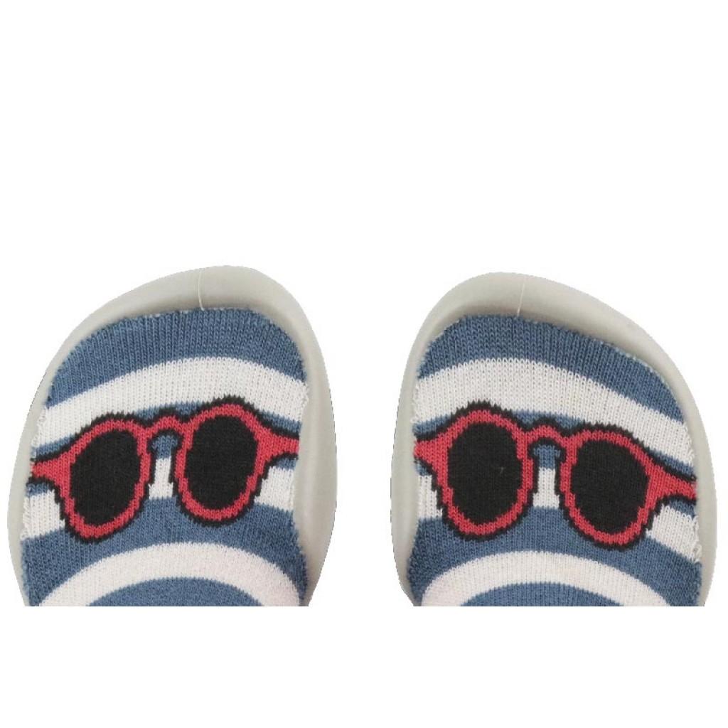 Zapatilla para casa calcetín con gafas Collegien