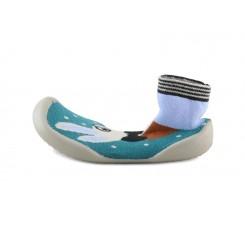 Zapatilla para casa calcetín conejito Collegien